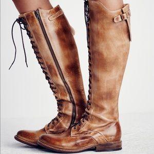 Bed Stu Glastonbury Lace-Up Boots